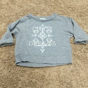 """Old Navy """"chase your dreams"""" sweatshirt"""